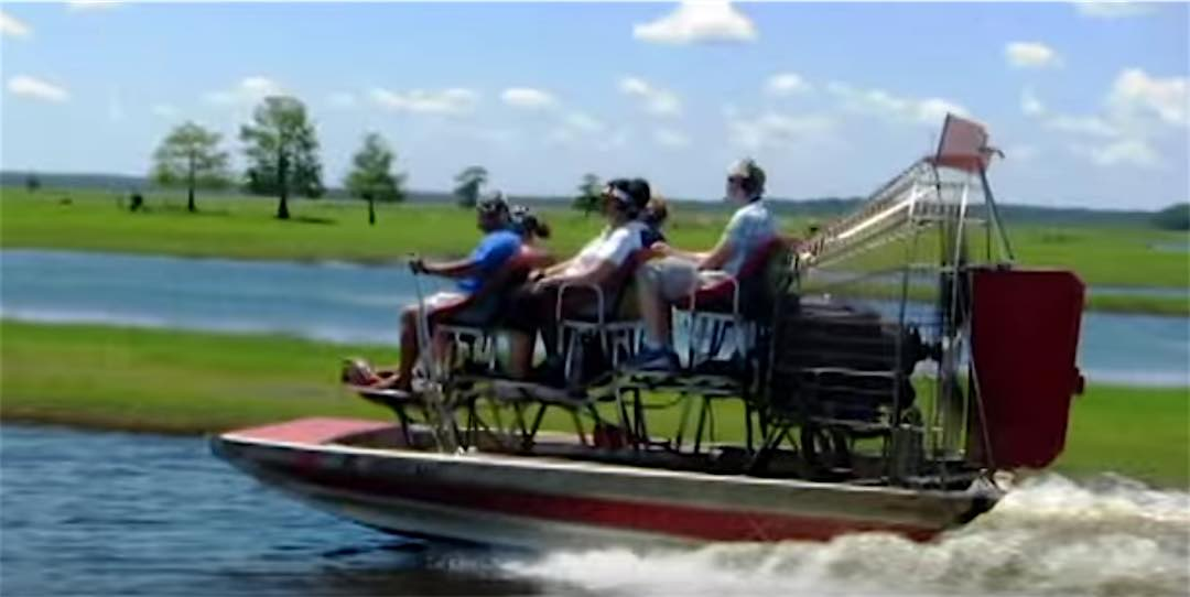 Orlando Air-Boat Ride