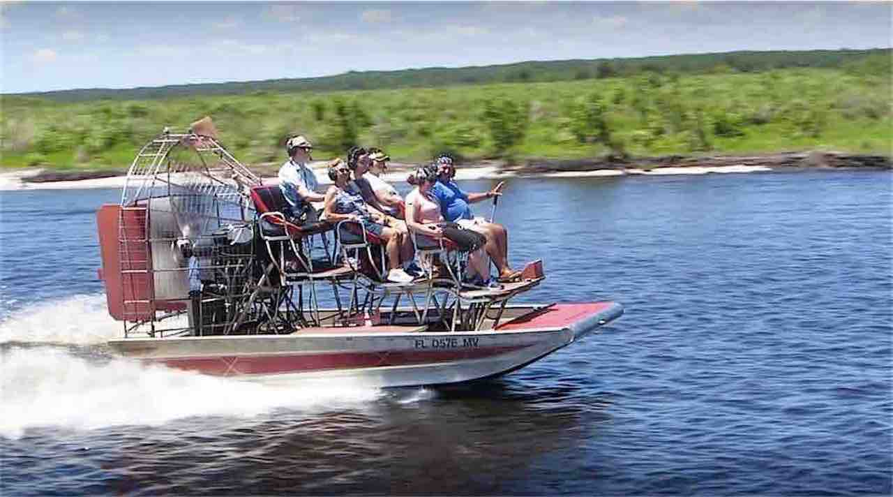 A-Awesome Air Boat Ride