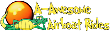 A-Awesome Airboat Rides Logo